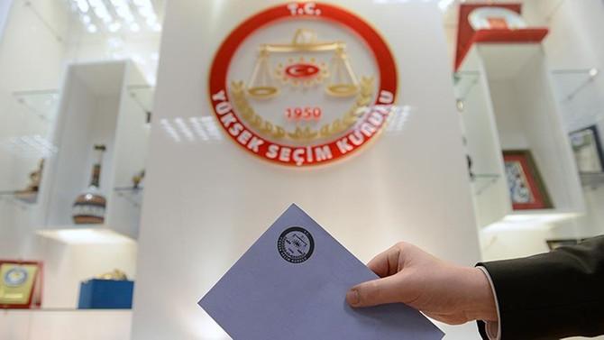 Partiler milletvekili listelerini YSK'ya teslim etti