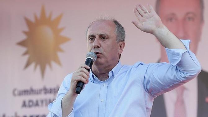 İnce: Bu iş tamam, Türkiye bu değişimi istiyor