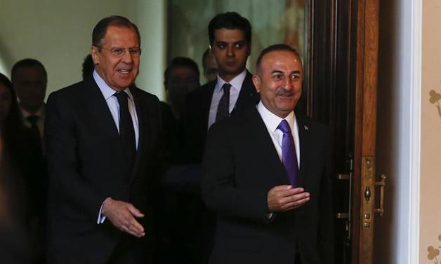 Çavuşoğlu, Rus mevkidaşıyla görüştü