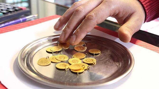 Çeyrek altının fiyatı bir günde 8 lira arttı