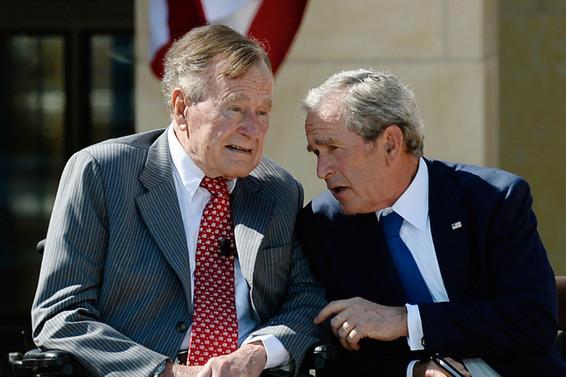 ABD eski başkanı Bush hastaneye kaldırıldı