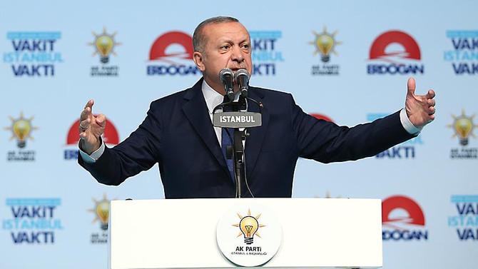 Erdoğan: Heveslerini kursaklarında bırakacağız