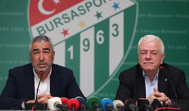 Bursaspor'da Samet Aybaba dönemi başladı