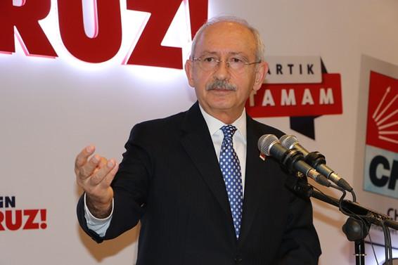 Kılıçdaroğlu: Türkiye'de 7 milyon işsiz var