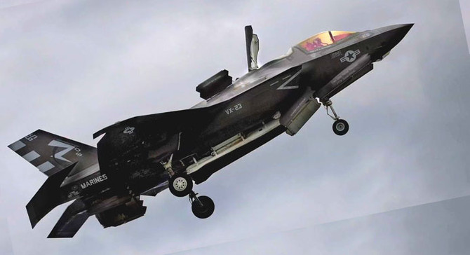 ABD'ye F-35 resti