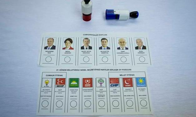 Oy pusulaları tanıtıldı