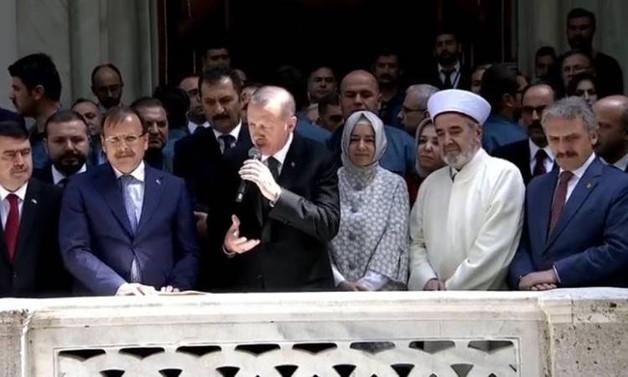 Erdoğan Nusretiye Camisi'nin açılışını yaptı