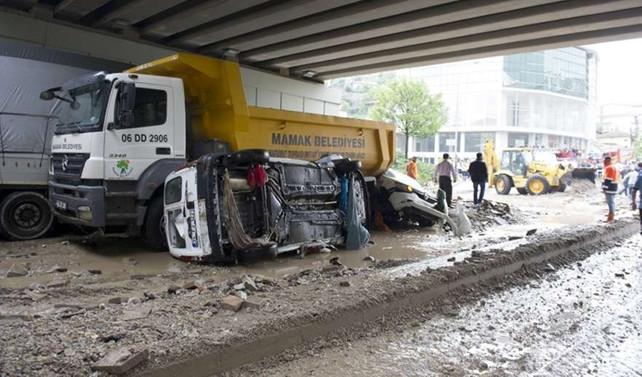 Ankara'da yeni sel uyarısı