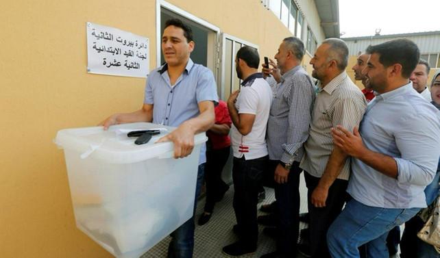 Lübnan'da  9 yıl sonra ilk seçim