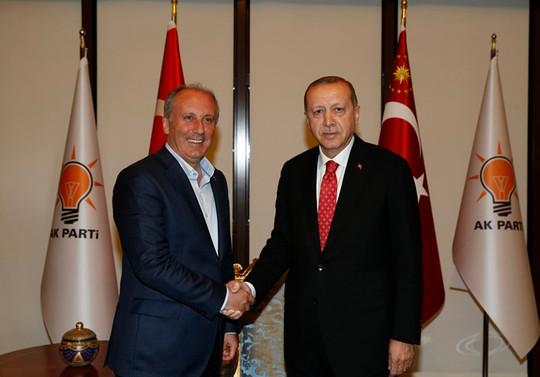 İnce'den Erdoğan ile görüşme sonrası açıklama