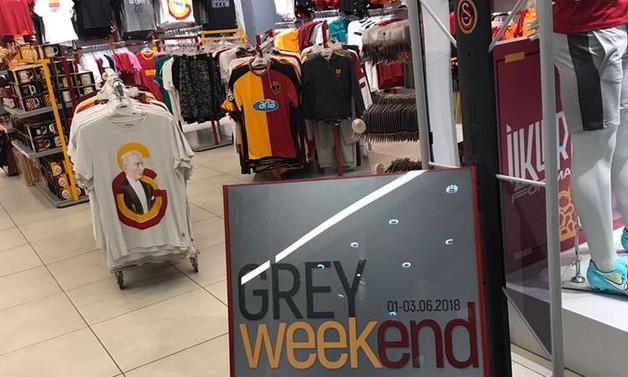 Galatasaray'da 'Grey Weekend' zamanı