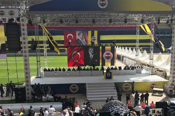 Fenerbahçe'de kongre günü: Listeler belli oldu
