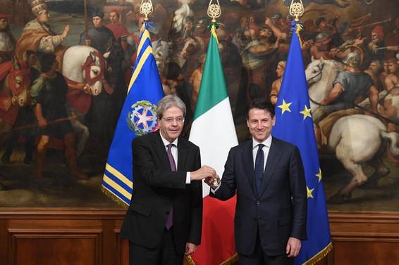 İtalya'nın yeni hükümeti yemin etti