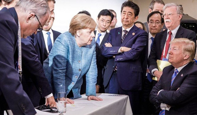 G7'ye damga vuran kare!