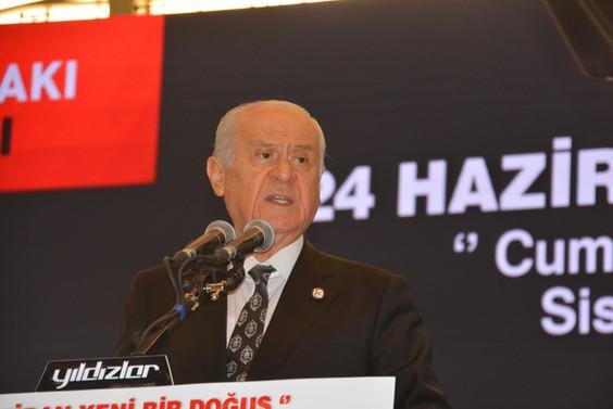 """""""MHP'nin baraj sorunu yok, 24 Haziran'da ithamları yıkacağız"""""""
