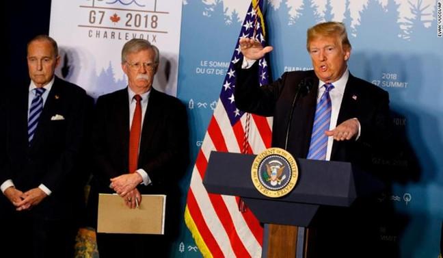 Trump'ın G7 öfkesi: Neden izin vereyim?