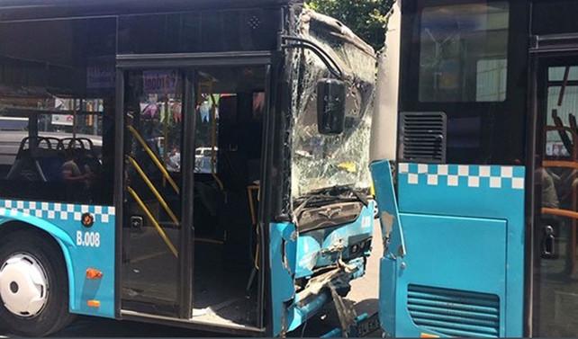 Şişli'de zincirleme kaza: 3 yaralı