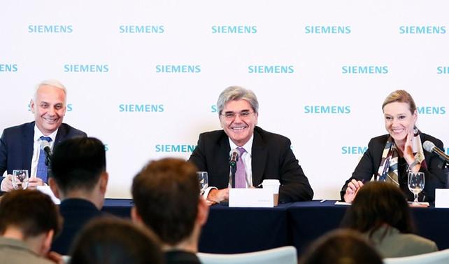 Siemens 'dijital ipek yolu' oluşturuyor