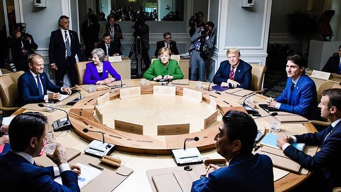 AB'den Trump'a G7 tepkisi: Bütünüyle arkasındayız