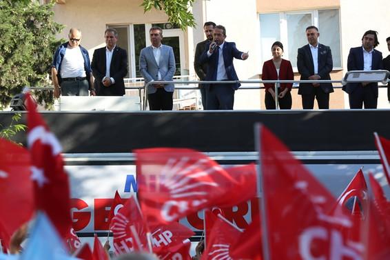Beş yıl içerisinde Türkiye'de işsizliğin sonunu getireceğiz