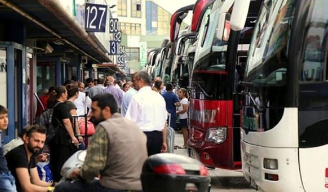 İstanbul'a dönüş biletleri şimdiden tükendi