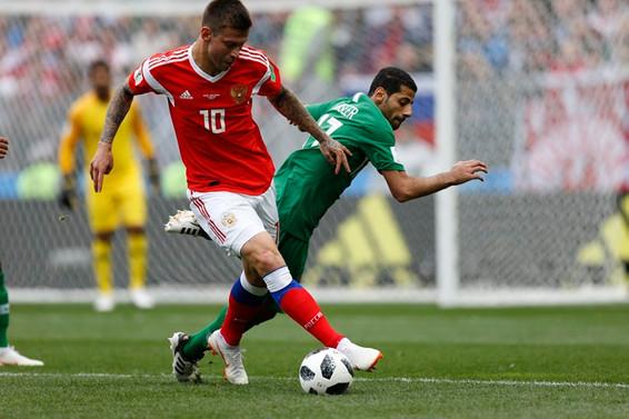 Dünya Kupası açılış maçında Rusya, S. Arabistan'ı 5-0 yendi