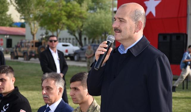 Soylu: PKK'nın İkiyaka Dağları'ndaki cephaneliği ele geçirildi