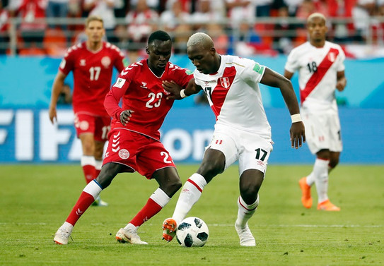 Danimarka, Peru'yu 1-0 yendi