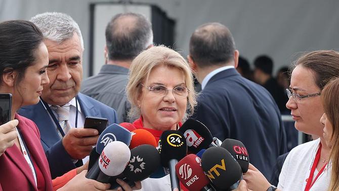 Çiller Yenikapı'da: Milli şuurla buradayım