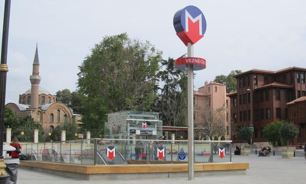Aksayan metro seferleri yeniden başladı