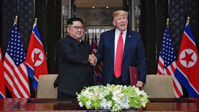 Trump-Kim zirvesi sırasında 40 bin siber saldırı gerçekleşti