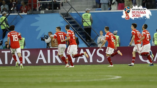 Rusya, Dünya Kupası'nda 2'de 2 yaptı