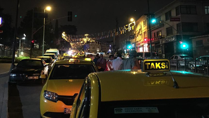 Taksicilerden Erdoğan'a 'UBER' teşekkürü