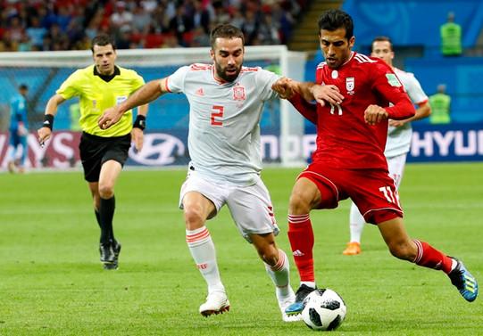 İran'ı yenen İspanya, puanını 4'e yükseltti