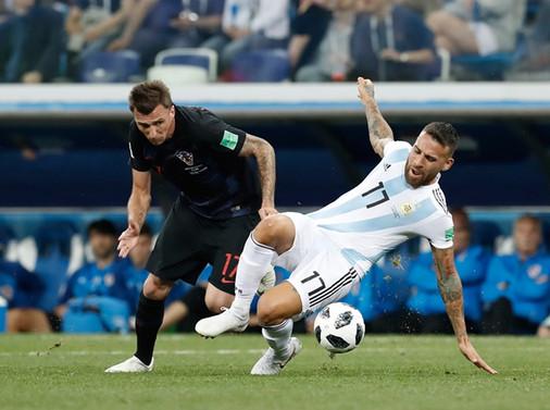 Hırvatistan, Arjantin'i farklı yendi