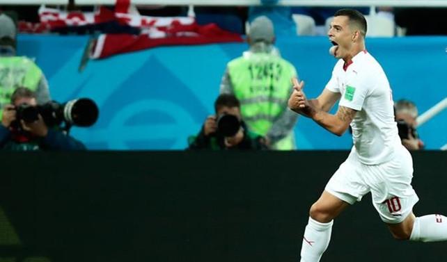 Sırbistan'dan Xhaka ve Shaqiri'nin gol sevinçlerine tepki