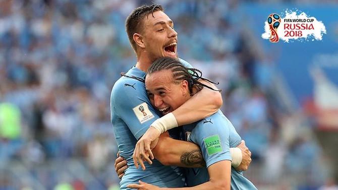 Uruguay, Rusya'yı farklı yendi