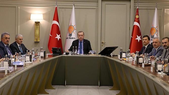 AK Parti MKYK ve MYK toplanıyor
