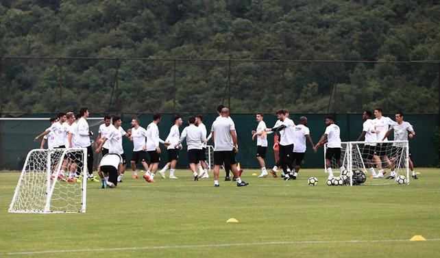Beşiktaş'ta yeni sezon mesaisi başladı