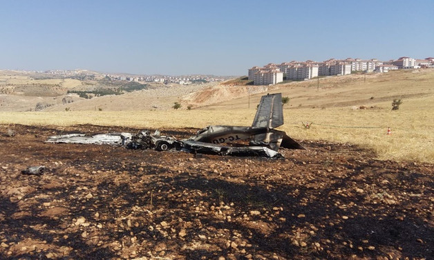 Adıyaman'da eğitim uçağı düştü: Pilot öldü