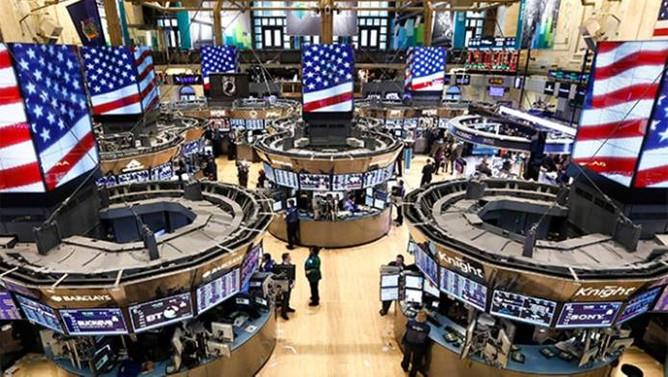 ABD borsaları karışık açıldı