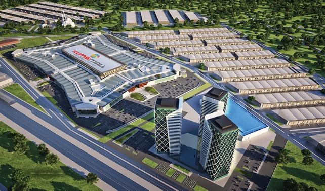 1 milyar dolar yatırımla Kumsmall Factory 2019 Nisan'da açılacak