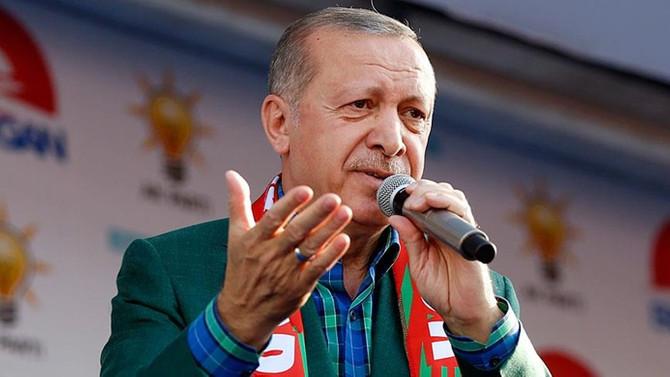 Erdoğan: Tüm bölgemiz, 40 yıldır olmadığı kadar huzur doludur