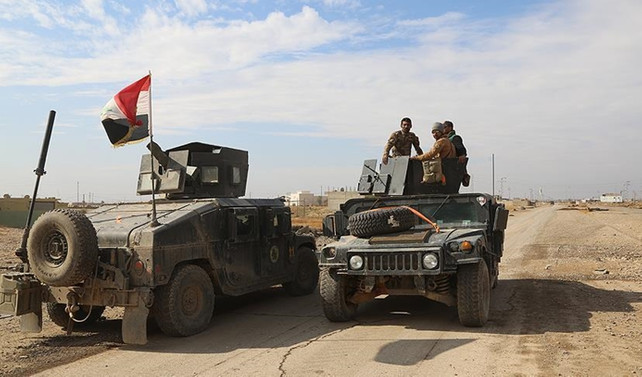 Irak güçleri Suriye sınırında denetimi sağladı