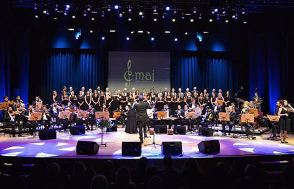 C Majör İş'ten Sesler Korosu'ndan şehit aileleri yararına konser