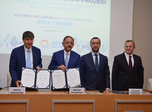 İlbank ile ASAT arasında 58 milyon euroluk kredi sözleşmesi