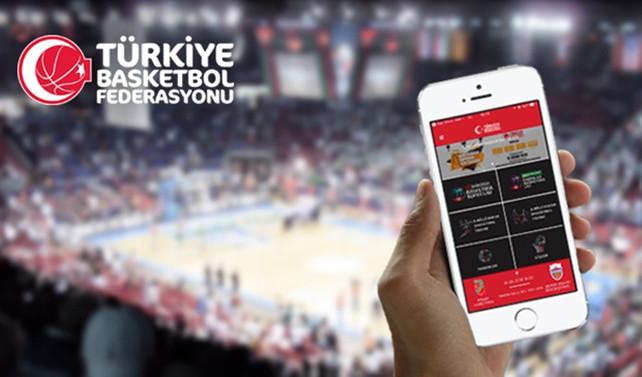 TBF Mobil Uygulaması ile basketbol cepte