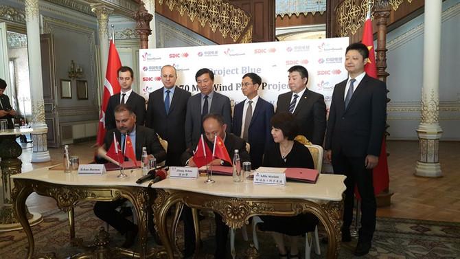 Çin-Türk ortaklığıyla 225 milyon dolarlık RES yatırımı