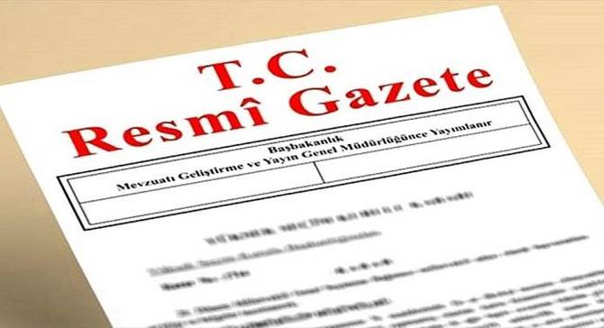 Yeni kabine listesi Resmi Gazete'de
