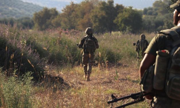 Afrin'de güvenlik için yoğun mesai